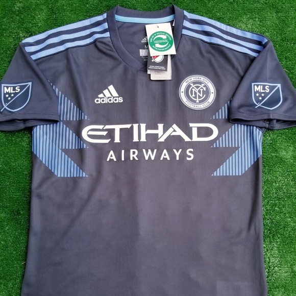 e25b7846f73 2018 New York City FC soccer jersey David Villa